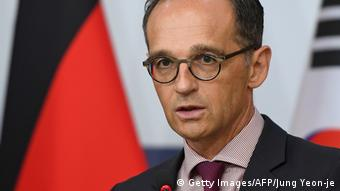 Deutschland Bundesaussenminister Heiko Maas (Getty Images/AFP/Jung Yeon-je)