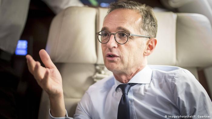 Deutschland Bundesaussenminister Heiko Maas
