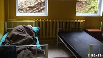 В одной из палат для психически больных людей