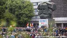Rechte demonstrieren in Chemnitz