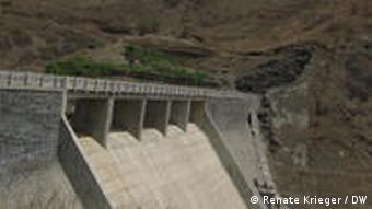 O Poilão é a única barragem de Cabo Verde, no centro de Santiago, a maior ilha do arquipélago.