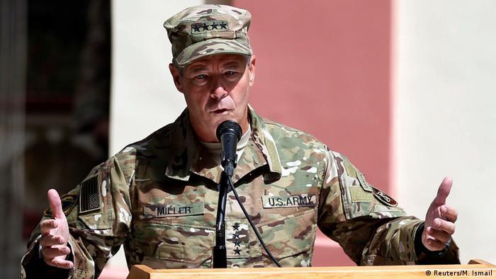 Afghanistan neuer Nato-Oberbefehlshaber General Scott Miller (Reuters/M. Ismail)