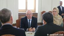 Alistair Burt in Teheran