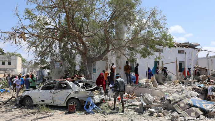 Anschlag in Mogadischu (Reuters/F. Omar)