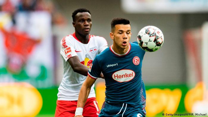 Bruma, jogador guineense do RB Leipzig (Getty Images/AFP/R. Michael)