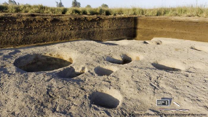 A dig site in Tell el-Samara