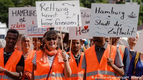 У Німеччині пройшли демонстрації за порятунок біженців на морі