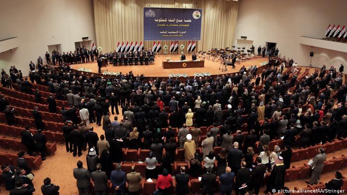 Irak Parlament in Bagdad