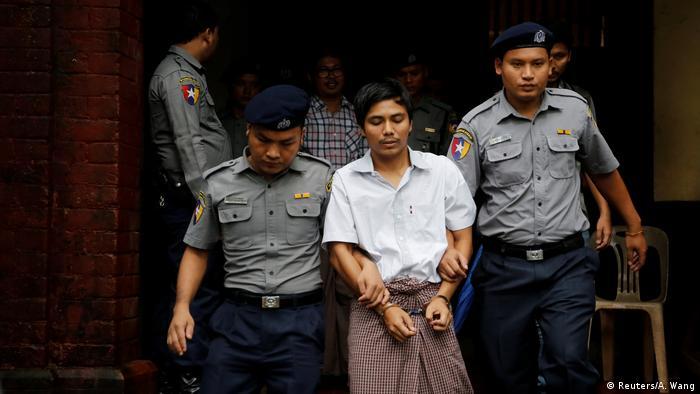 Myanmar verurteilte Journalisten (Reuters/A. Wang)
