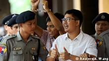 Myanmar verurteilte Journalisten