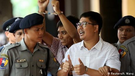 У М'янмі засудили до семи років тюрми двох журналістів Reuters