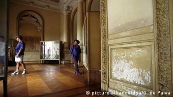 Una imagen del interior del Museo Nacional de Río de Janeiro.