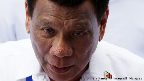 Philippinischer Präsident Rodrigo Duterte (picture alliance/AP Images/B. Marquez)