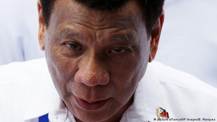 Der philippinische Präsident Rodrigo Duterte (Foto: picture alliance/AP Images/B. Marquez)