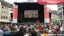 Public Viewing des Beethovenfests auf dem Bonner Marktplatz, 2.9.18