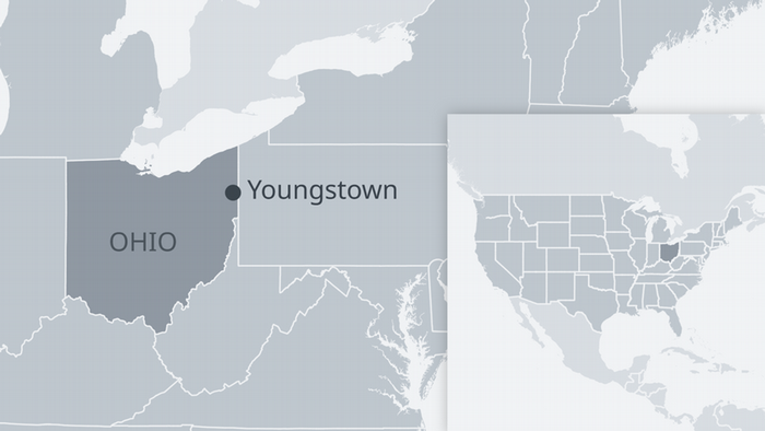 Karte Ohio USA