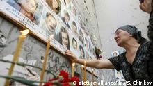 Russland erinnert an Geiseldrama von Beslan