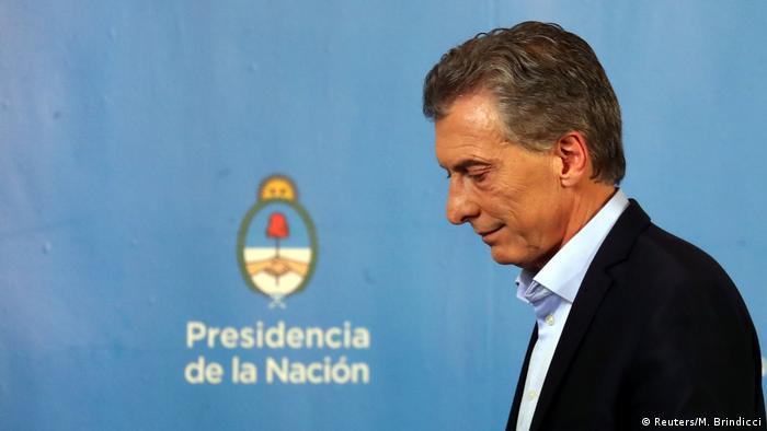 Argentinischer Präsident Mauricio Macri (Reuters/M. Brindicci)