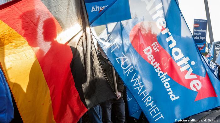 أرشيف: من مظاهرة سابقة لأنصار حزب البديل من أجل ألمانيا اليميني الشعبوي في هامبورغ