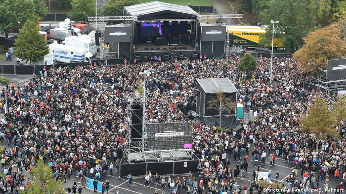 Chemnitz - Konzert gegen Rechts