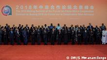 African and China leaders at the China African summit in Beijing