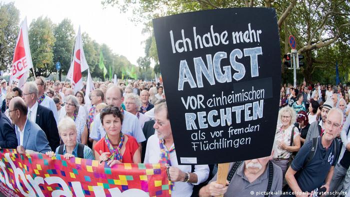 Hannover - Demonstration Wir sind mehr #wirsindmehr