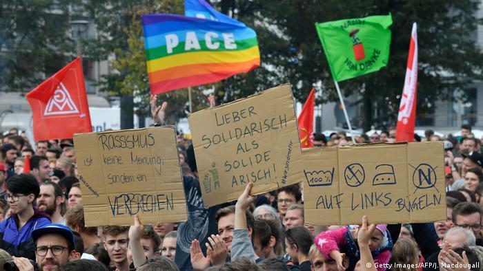 Show contra o racismo em Chemnitz