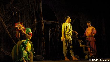 Bangladesch, Bildergalerie: Schauspiel des Dhaka Theater Bangladesch, Bildergalerie: Theater in Dhaka (DW/M. Rahman)