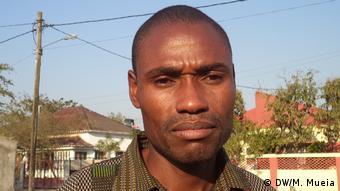 Domingos de Albuquerque, MDM Kandidat für die Gemeinde Quelimane, Mosambik (DW/M. Mueia)