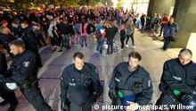 Deutschland, Chemnitz: Konzert gegen Rassismus