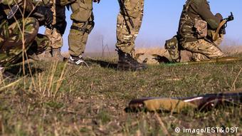 Бойцы полка Азов
