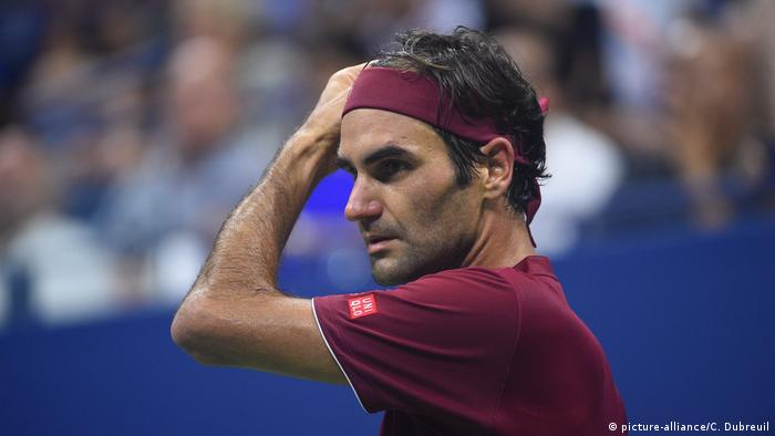 US Open - Roger Federer besiegt (picture-alliance/C. Dubreuil)