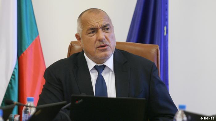 Българският министър-предсеадтел Бойко Борисов