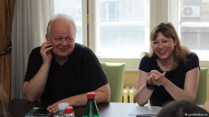 Der serbischen Presserat: Gordana Novaković und Emil Holcer