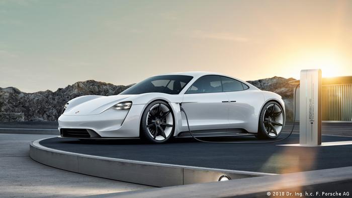 Porsche Taycan (2018 Dr. Ing. h.c. F. Porsche AG)