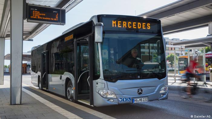 Un e-bus de Daimler