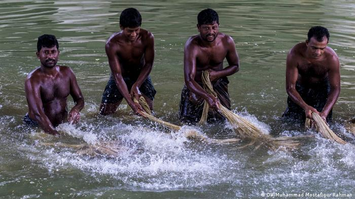 Bangladesch Faridpur Juteproduction