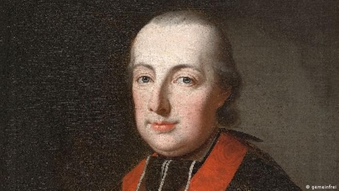 Painting of Maximilian Franz of Habsburg-Lorraine (gemeinfrei)