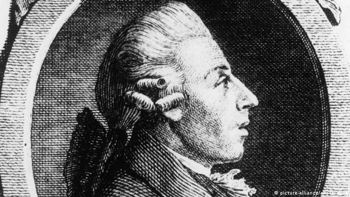 Drawing of the composer Christian Gottlob Neefe, 1748-1798. (picture-alliance/akg-images)