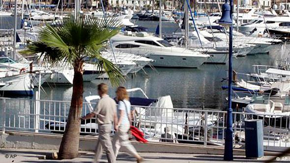 Yachthafen in Port d'Andratx (Mallorca)