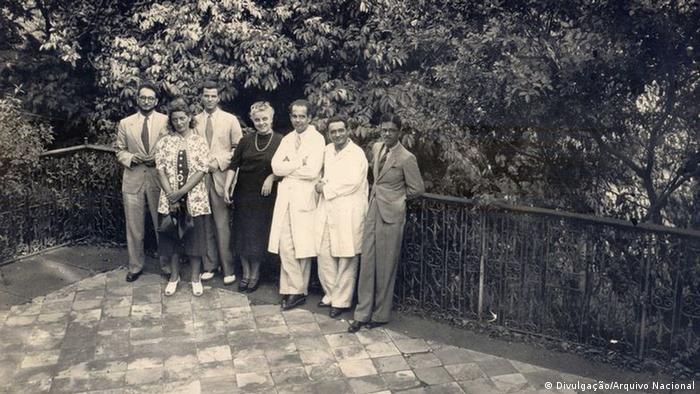 Claude Lévi-Strauss no Museu Nacional