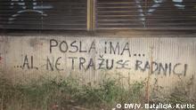 Kroatien Graffiti in Split
