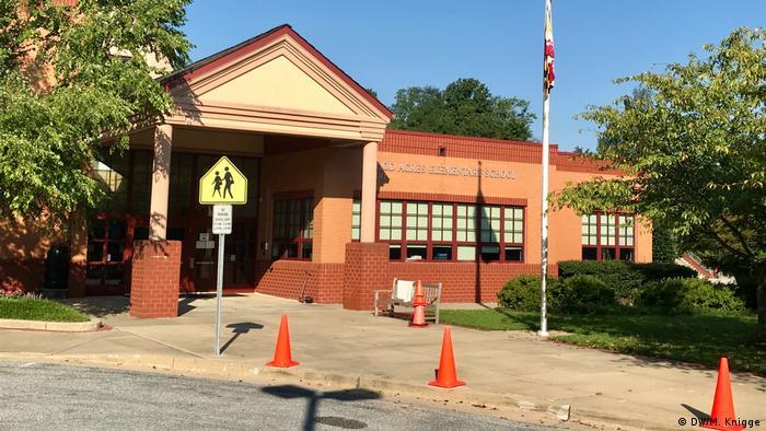 USA Woodacres Elementary School in Maryland