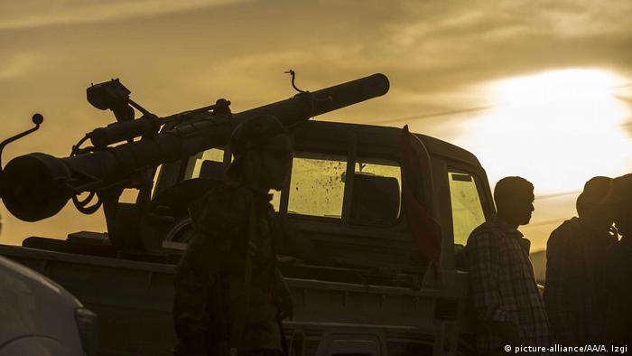 Libyen Miliz Fajr Libya in Kikla (picture-alliance/AA/A. Izgi)