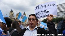 Proteste in Guatemala-Stadt (Getty Images/AFP/O. Estrada)