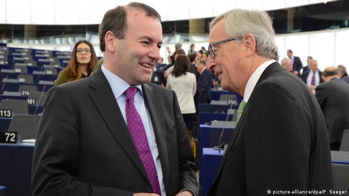 Jean-Claude Juncker, Manfred Weber