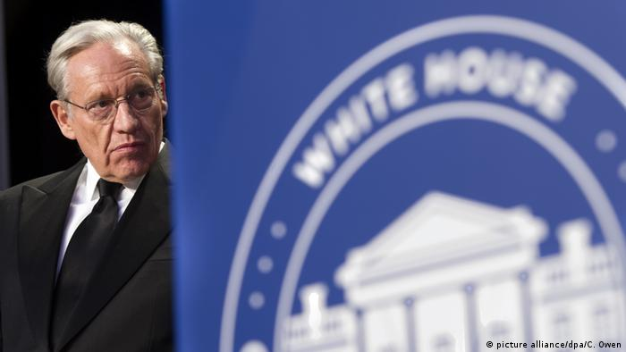 USA, Washington: Der Journalist Bob Woodward nimmt am White House Correspondents Dinner teil
