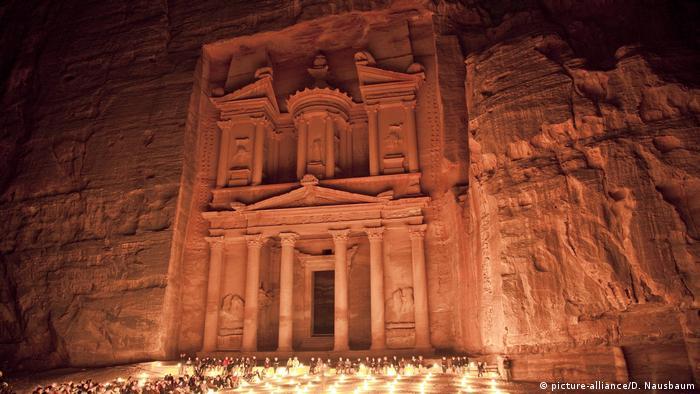 Jordanien: UNSESCO Welterbe El Khazneh (picture-alliance/D. Nausbaum)