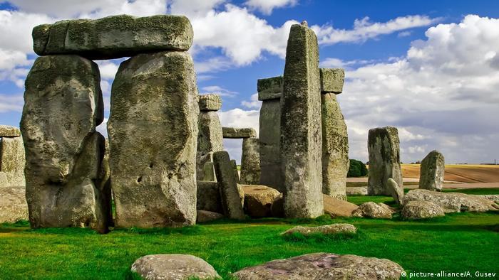 Großbritannien, Salisbury: Stonehenge (picture-alliance/A. Gusev)