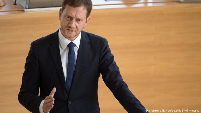 Landtag Sachsen - Michael Kretschmer